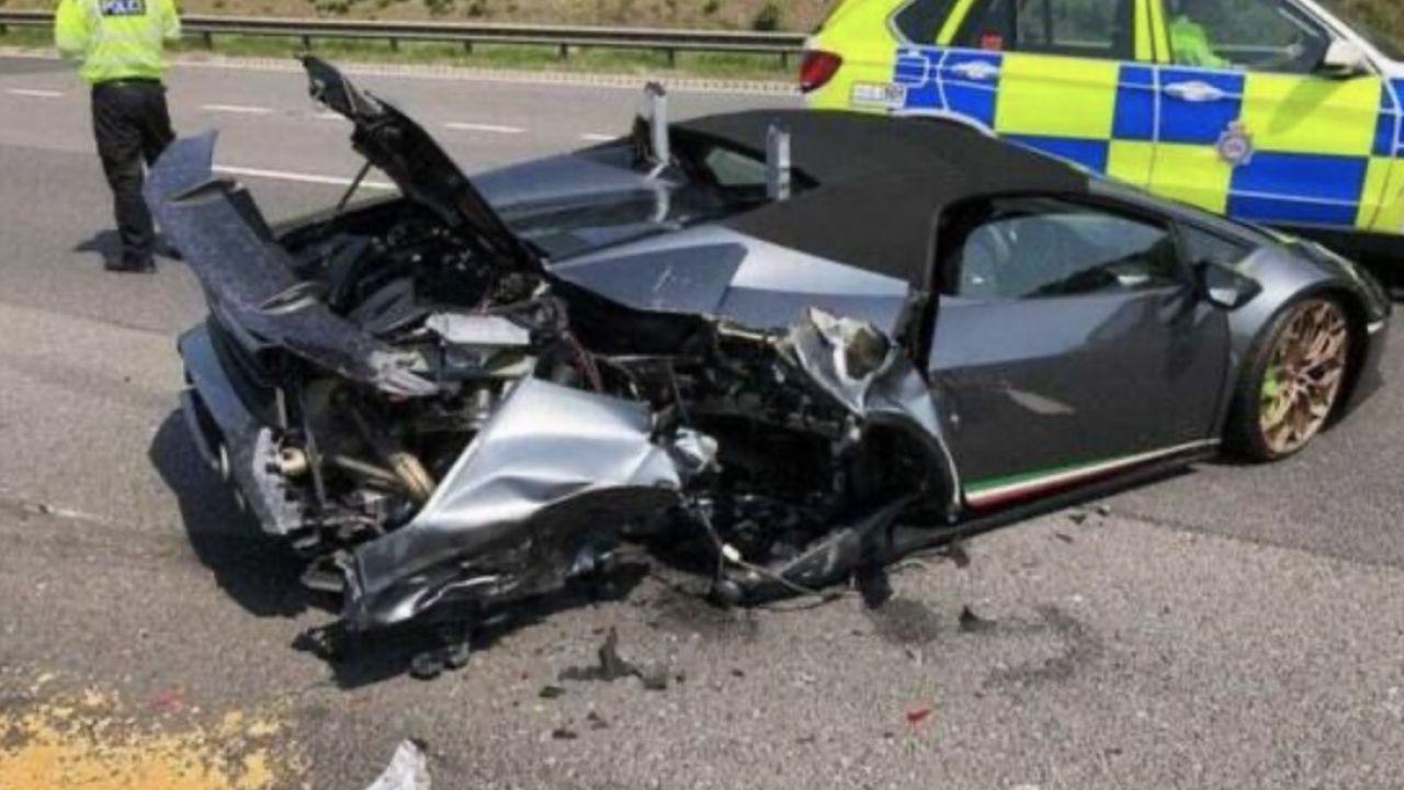 Compra una Lamborghini Huracán e la distrugge dopo 20 minuti