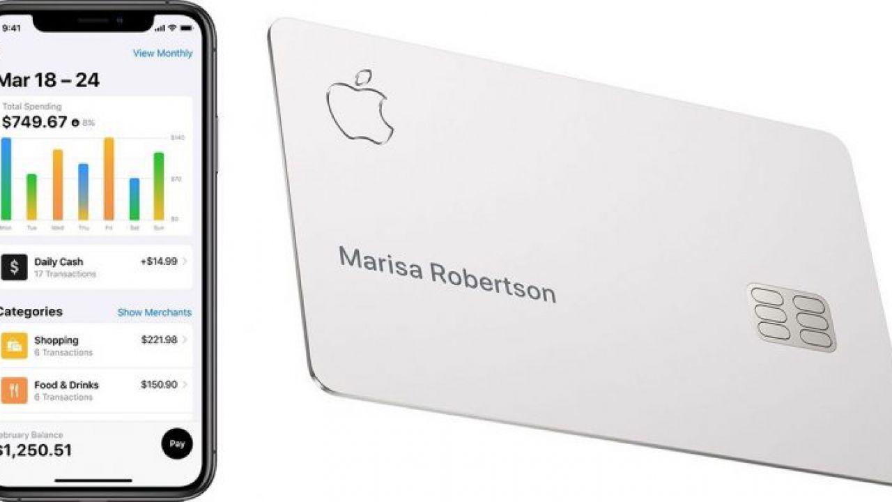 Con Apple Card si potrà acquistare l'iPhone a rate senza interessi
