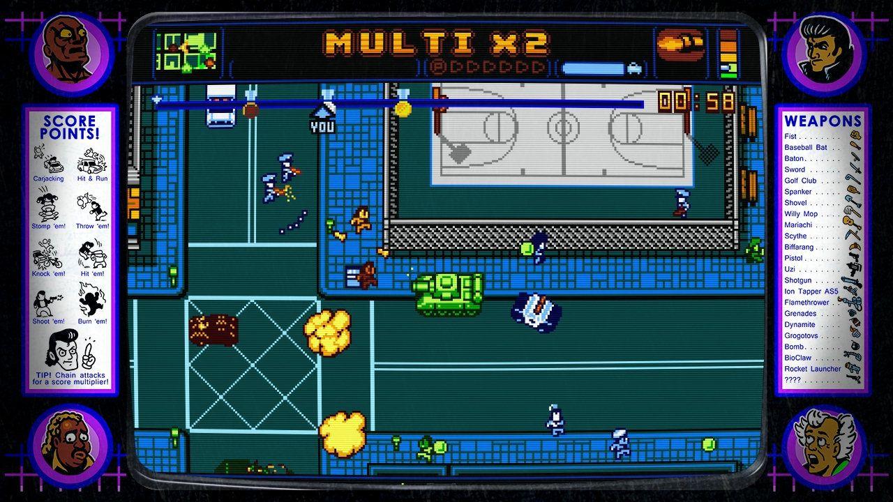 Confermata l'edizione retail di Retro City Rampage DX per PlayStation Vita