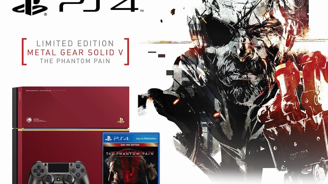 Confermata la PS4 di Metal Gear Solid V: The Phantom Pain per l'Europa