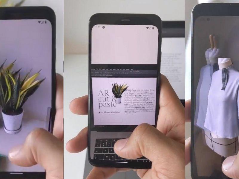 Copia un oggetto dalla realtà e lo incolla sul computer: l'incredibile video