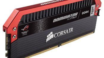 Corsair ed ASUS sfornano le RAM Dominator Platinum ROG Edition