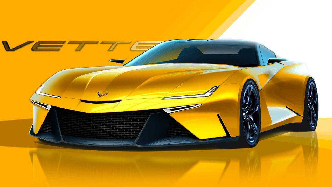 Corvette C9? Designer immagina la prossima generazione a motore nuovamente anteriore