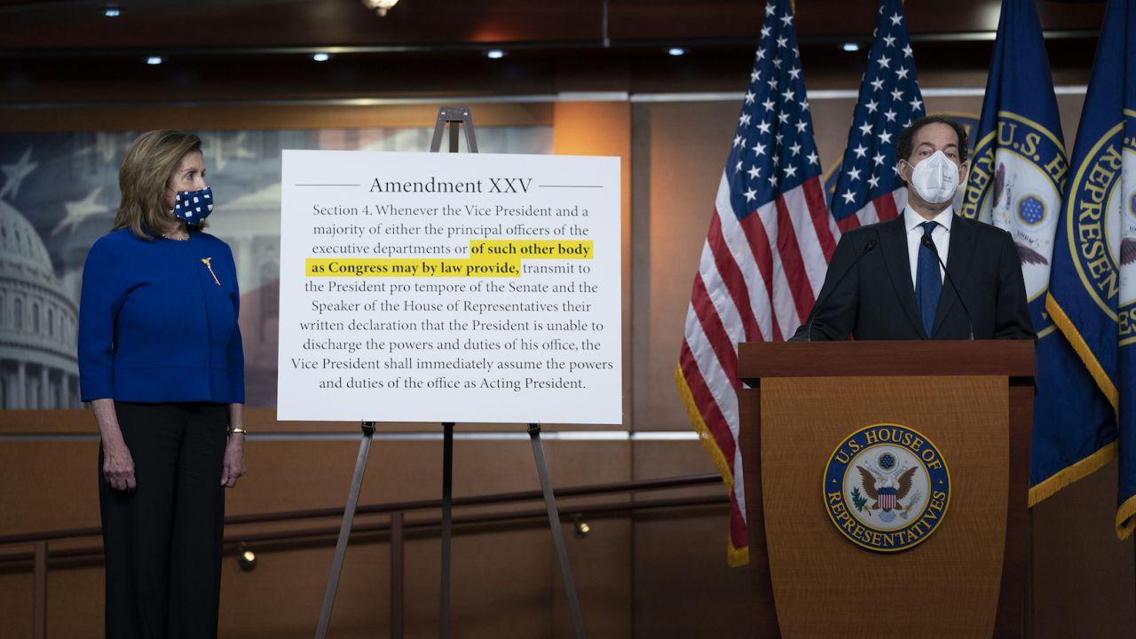Cos'è il 25esimo emendamento nella Costituzione americana?