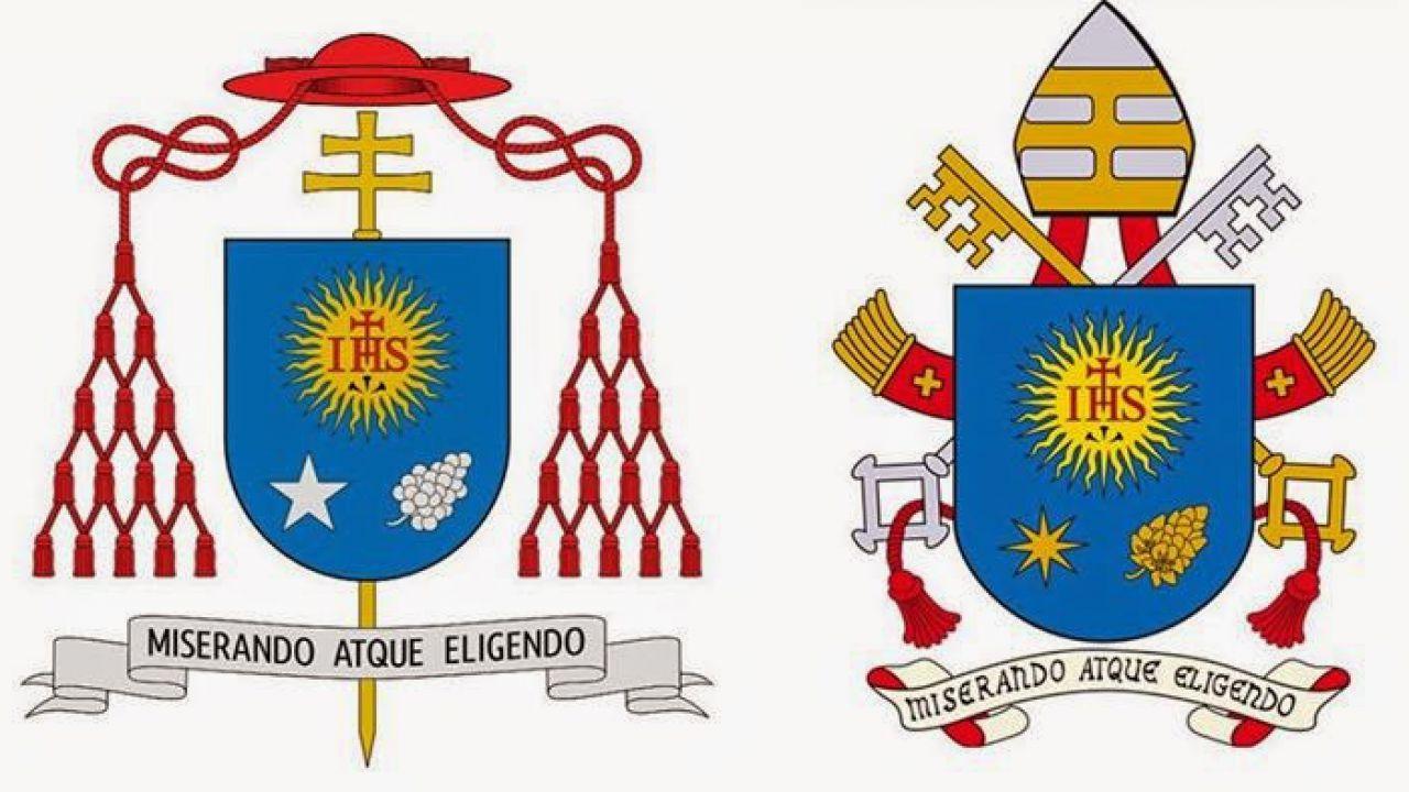 Cosa rappresenta il simbolo che c'è nello stemma del Papa?