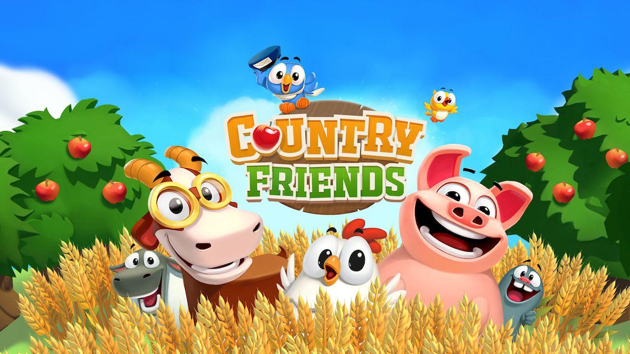 Country Friends disponibile ora su smartphone e tablet