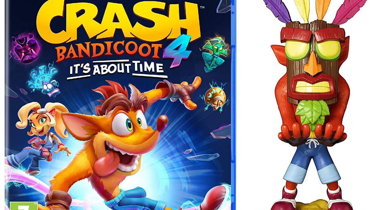 Crash Bandicoot 4: prenotalo su Amazon con il porta joypad di Crash Aku Aku