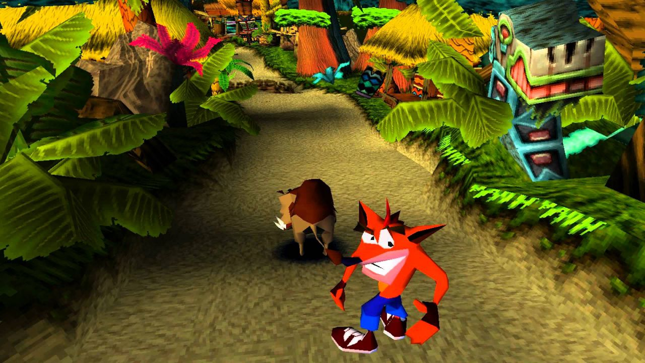 Crash Bandicoot appare in un messaggio di PlayStation Mid East