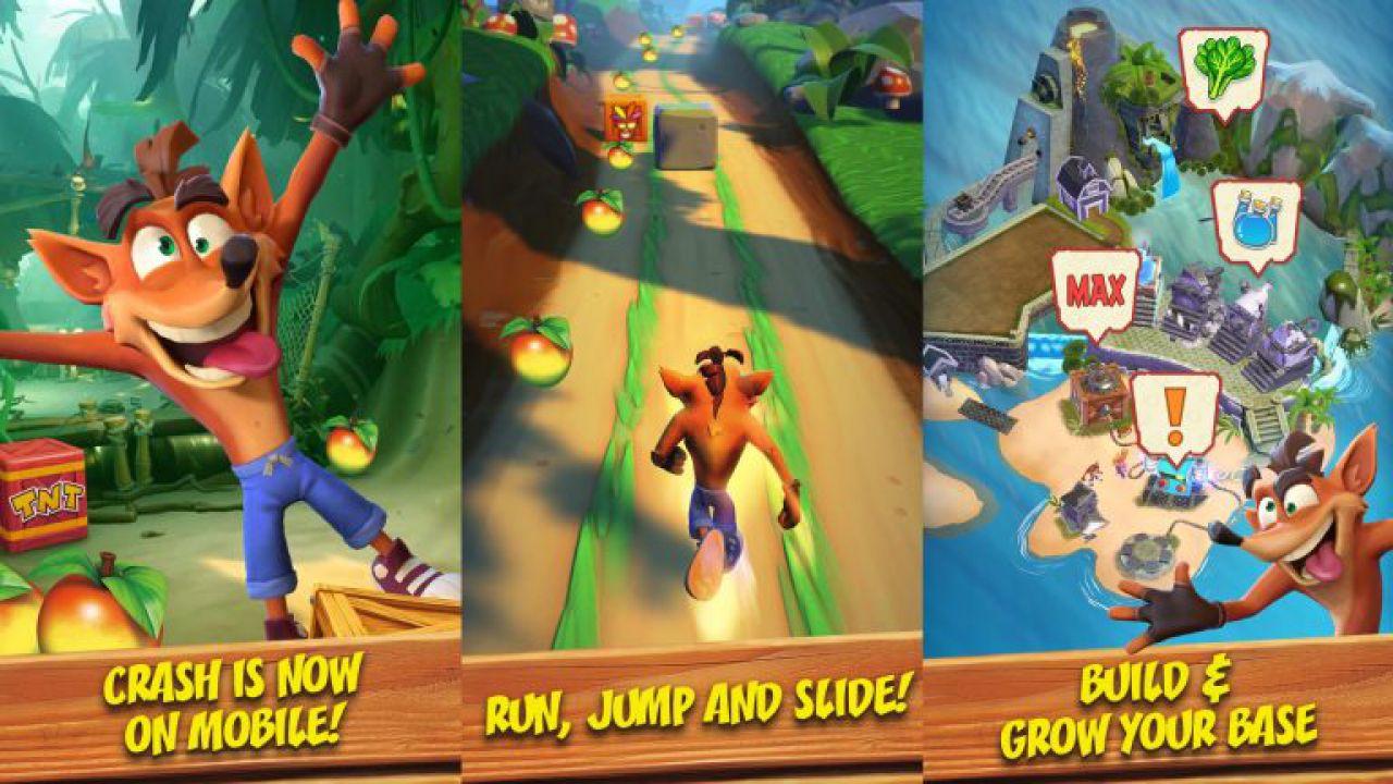 Crash Bandicoot Mobile in arrivo su smartphone, sviluppato dagli autori di Candy Crush