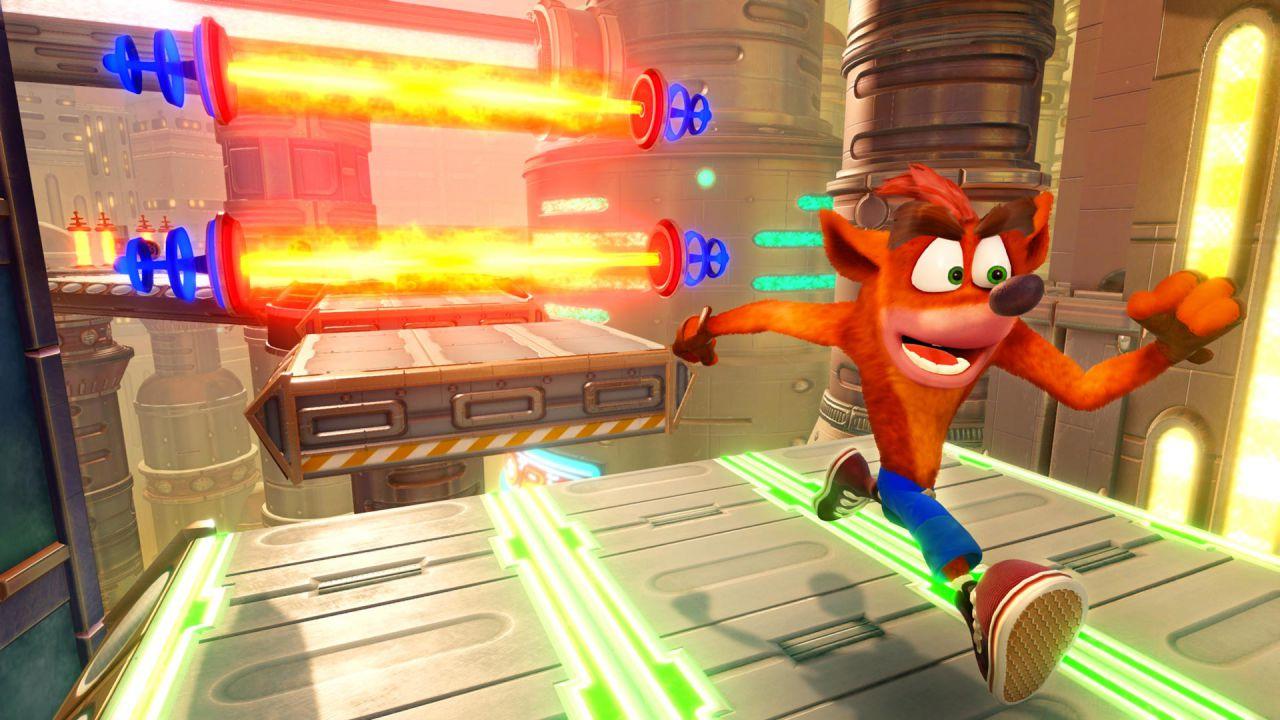 Crash Bandicoot N. Sane Trilogy: come ottenere entrambe le gemme nel livello Future Tense