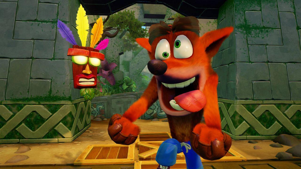 Crash Bandicoot N. Sane Trilogy è stato il gioco più venduto nel Regno Unito a luglio