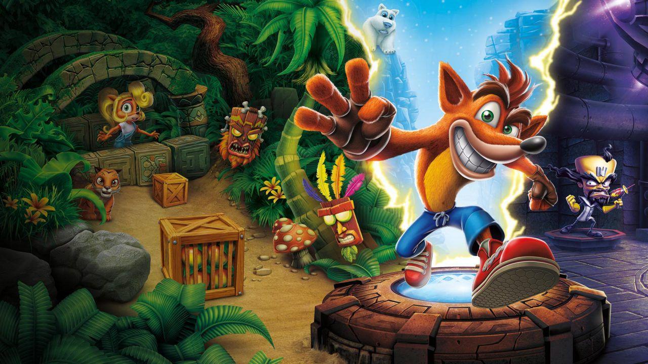 Crash Bandicoot Trilogy domina la classifica UK, tre esclusive Xbox tornano in Top 10