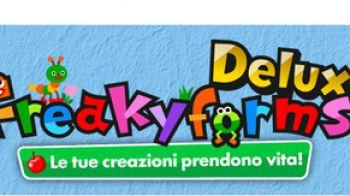 Crea i tuoi formì con Freakyforms Deluxe per Nintendo 3DS