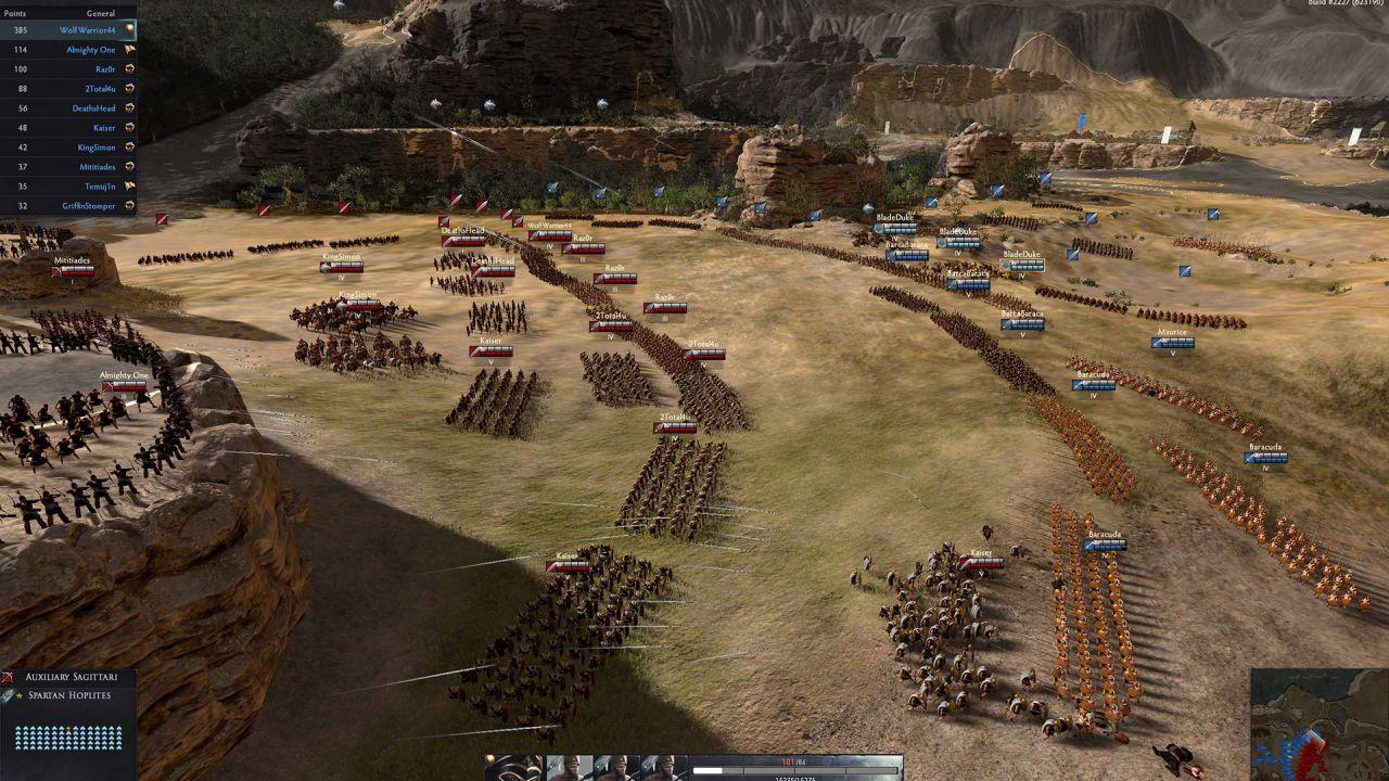 Creative Assembly annuncia Total War Arena, primo videogioco free-to-play della software house