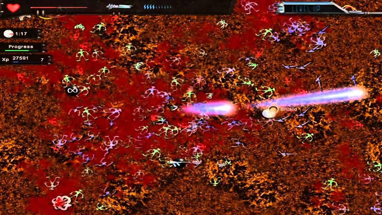 Crimsonland è disponibile su PlayStation 4