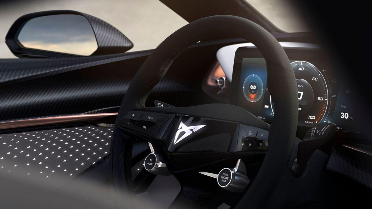 CUPRA svela gli interni della sua nuova concept car elettrica