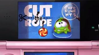 Cut the Rope: La Trilogia annunciato per Nintendo 3DS