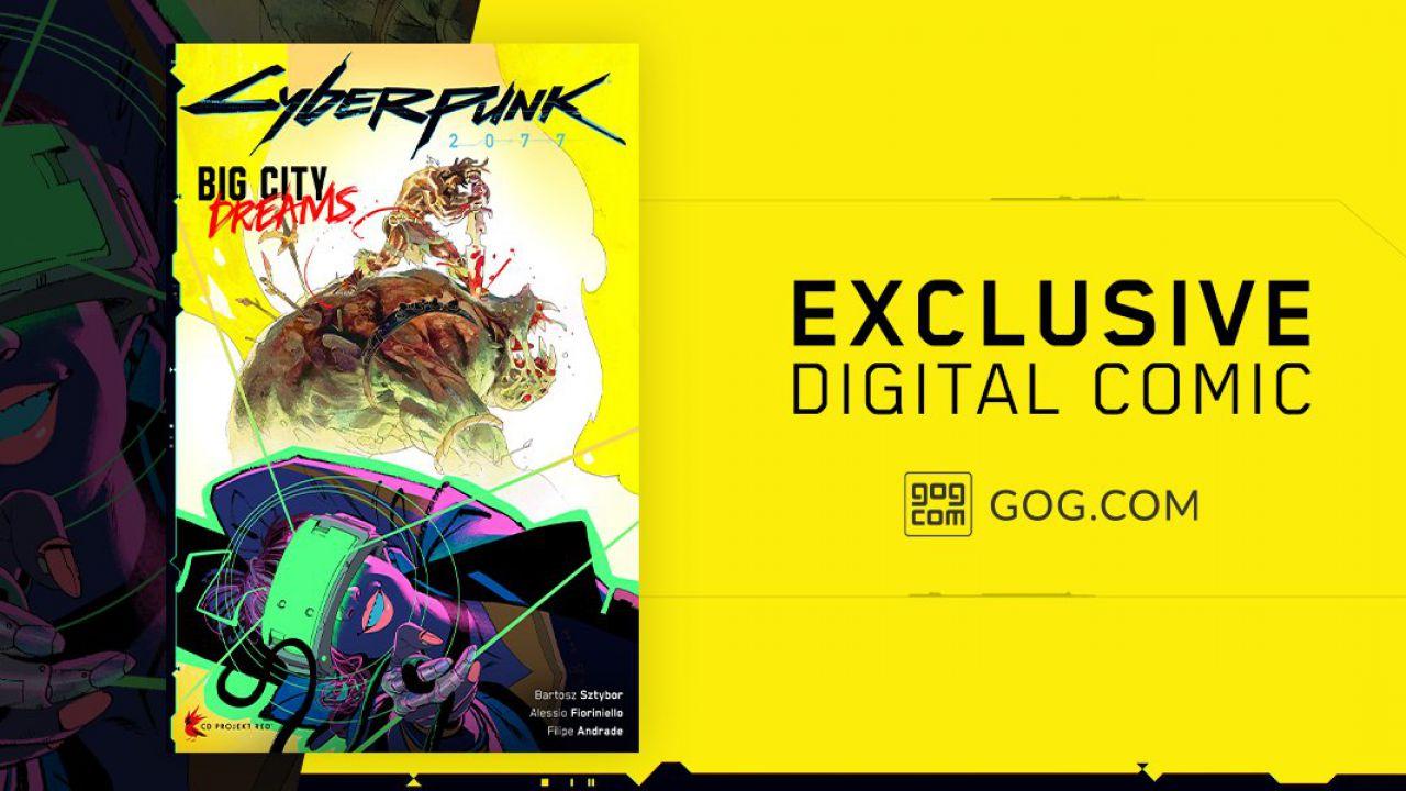 Cyberpunk 2077: un fumetto esclusivo e altro ancora per chi lo compra su GOG