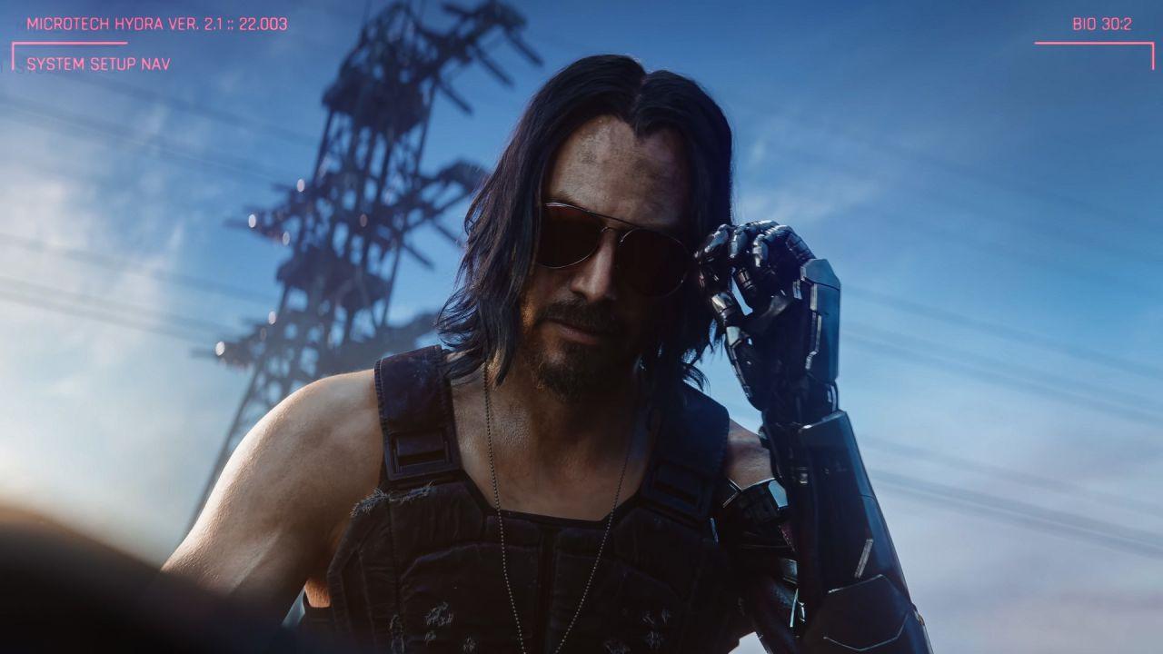 Cyberpunk 2077, Keanu Reeves e modifiche a Johnny Silverhand: CD Projekt RED smentisce