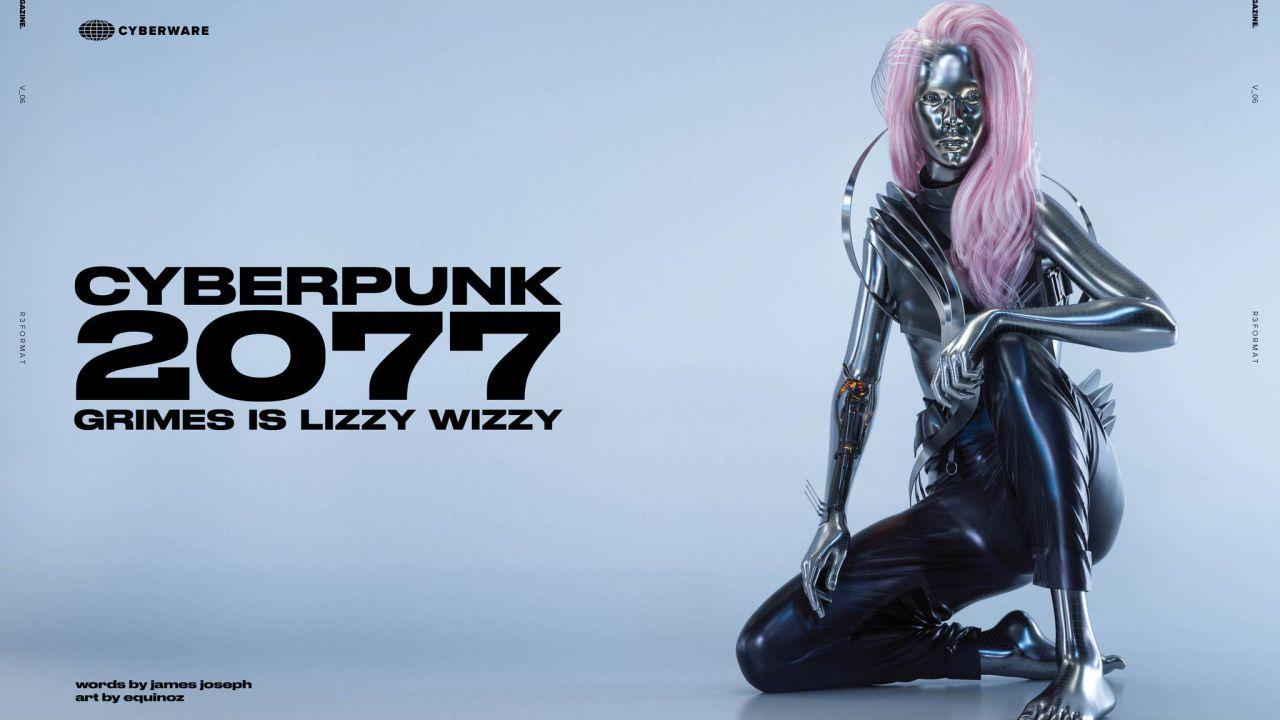 Cyberpunk 2077: Lizzy Wizzy in copertina per Cyber Magazine