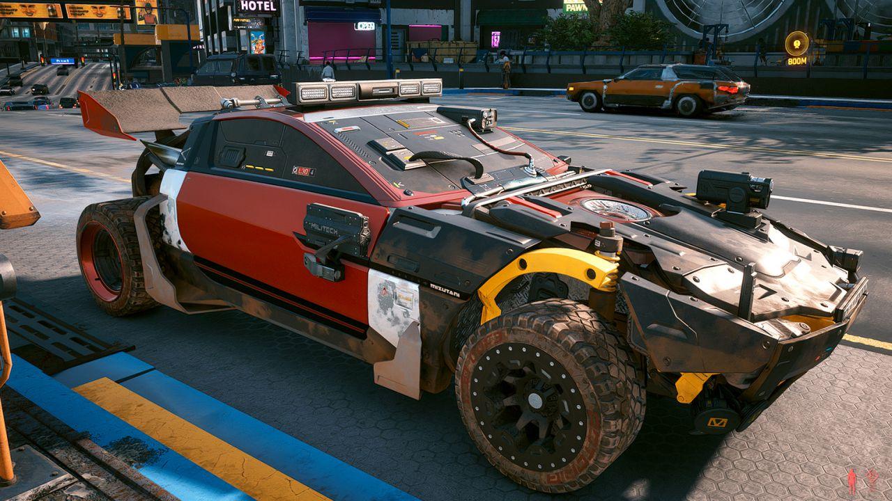 Cyberpunk 2077: una mod sblocca la customizzazione delle auto