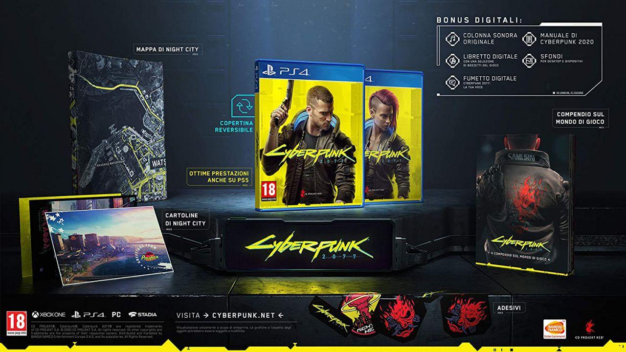 Cyberpunk 2077 per PS4 è la nuova offerta del giorno su Amazon