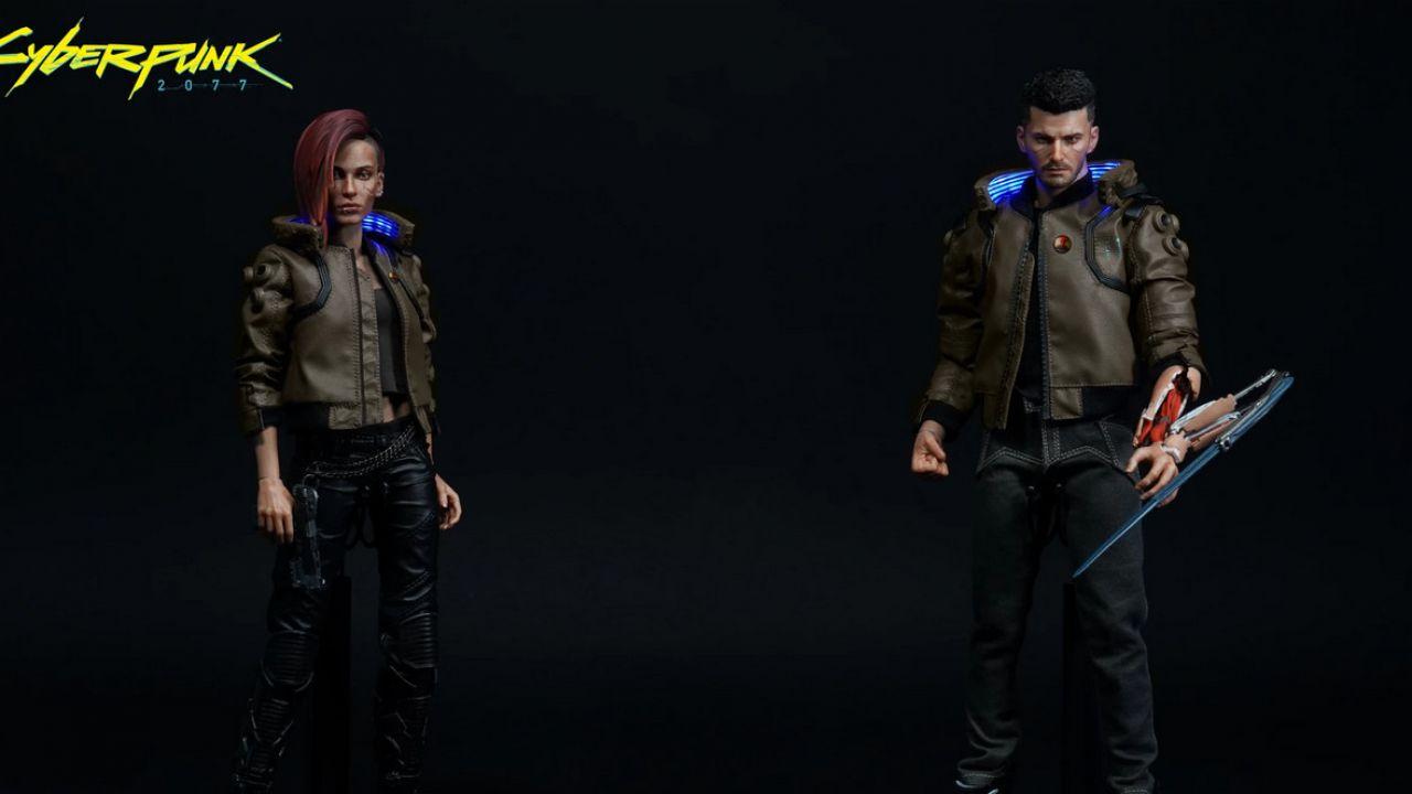 Cyberpunk 2077: PureArts presenta le action figure di V e della moto Yaiba Kusanagi
