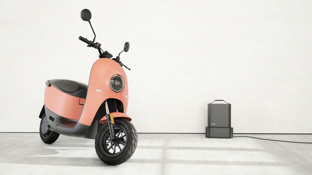 Da Berlino arriva Unu Scooter, lo scooter elettrico con batterie LG