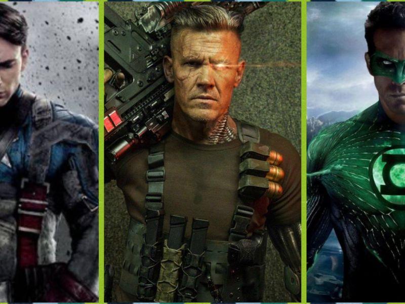 Da Chris Evans a Josh Brolin: 5 attori che hanno recitato in tantissimi cinecomic