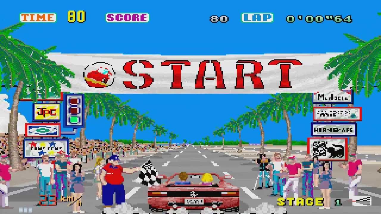 Da OutRun a Pole Position: 5 videogiochi di corse degli anni '80