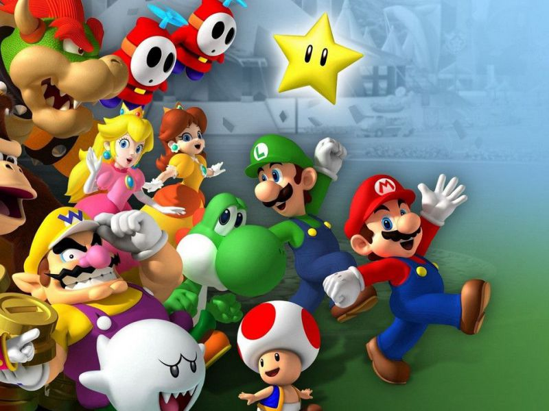 From Super Mario to Master Chief: studio elects the 10 most popular videogame characters!