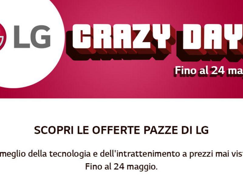 Da Unieuro tornano gli LG Crazy Days con ottime offerte su TV e soundbar