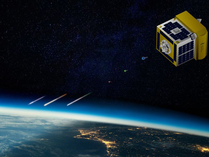 Dal Giappone arriva un satellite pieno di stelle cadenti artificiali per show pirotecnici