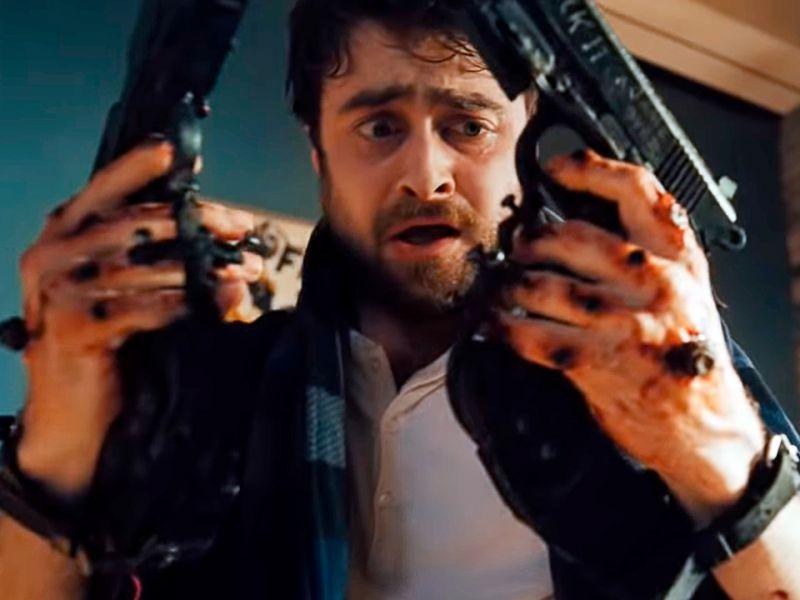 Daniel Radcliffe a ruota libera sul folle Guns Akimbo: 'Mi sono divertito un sacco'