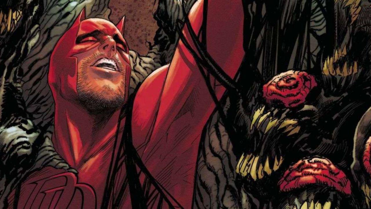 Daredevil incontra King in Black: il Diavolo di Hell's Kitchen è diventato un mostro