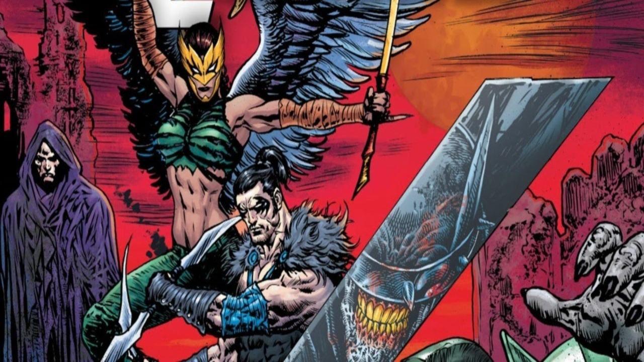 Dark Nights: Death Metal, presentati i nuovi costumi di Nightwing e Hawkgirl