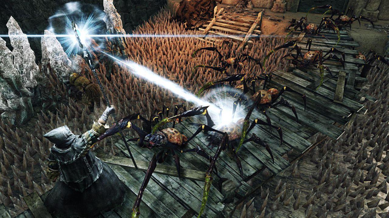 Dark Souls 2 giocato da una bambina di tre anni