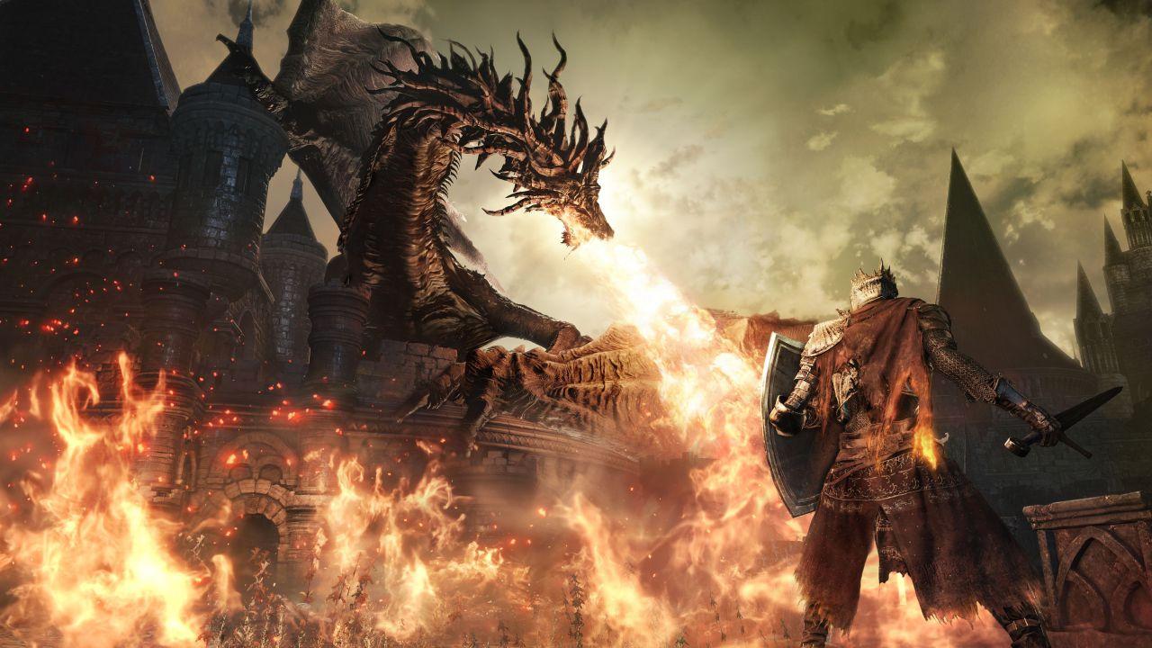 Dark Souls 3 giocato da Shuhei Yoshida con PlayStation VR: ecco una foto