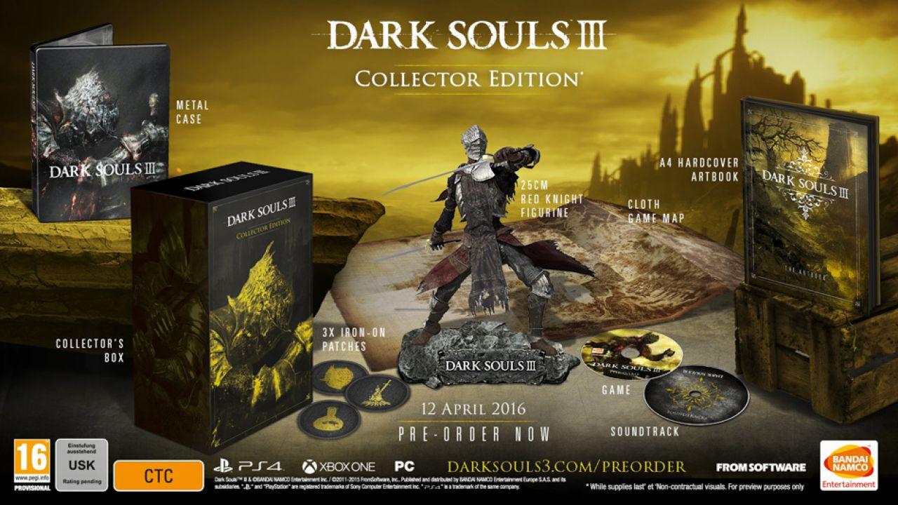 Dark Souls 3: un leak rivela la Collector's Edition e la Prestige Edition