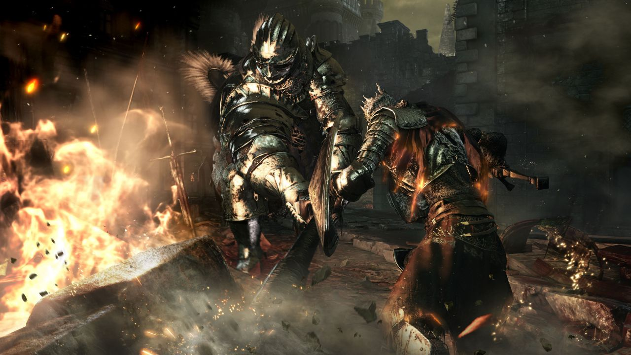 Dark Souls 3 per PC giocato con lo Steam Controller