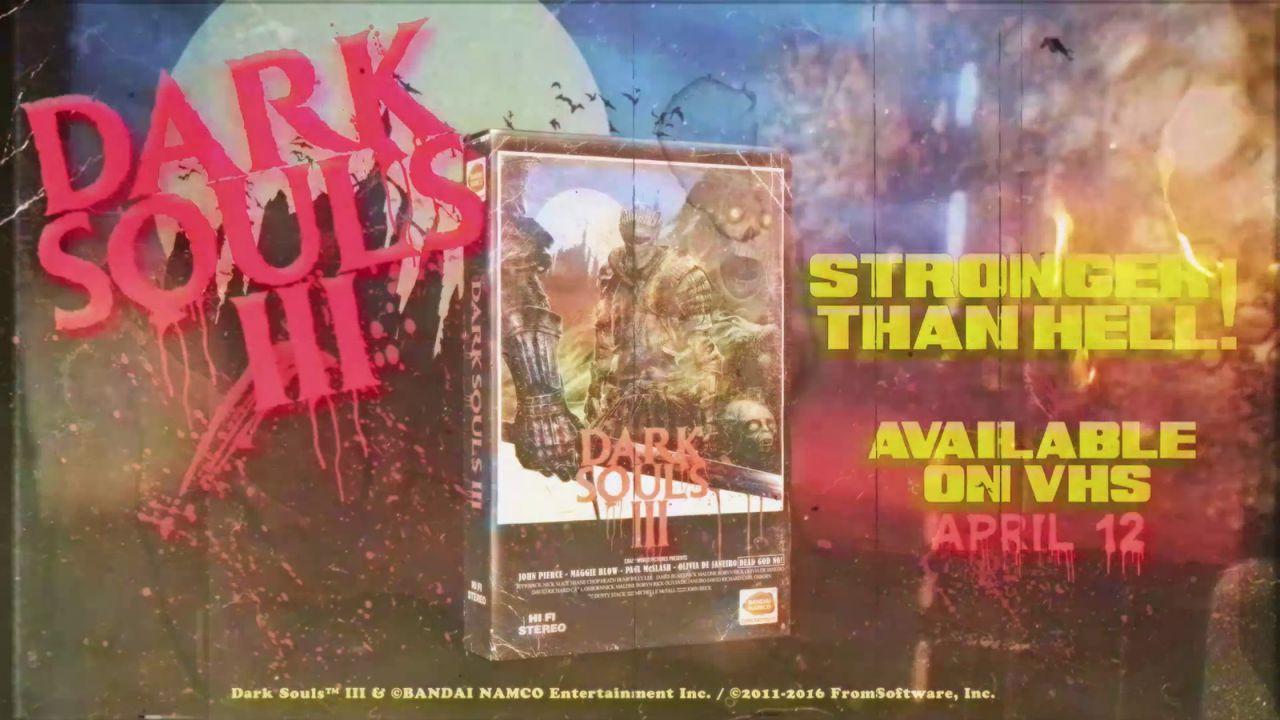 Dark Souls 3: un trailer dallo stile anni '80