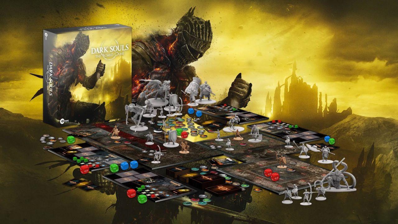 Dark Souls: il gioco da tavolo raccoglie 3,5 milioni di sterline ed ottiene la Modalità Campagna