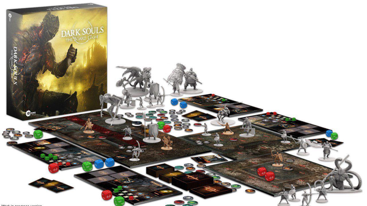 Dark Souls: il gioco da tavolo raccoglie oltre un milione di sterline su Kickstarter