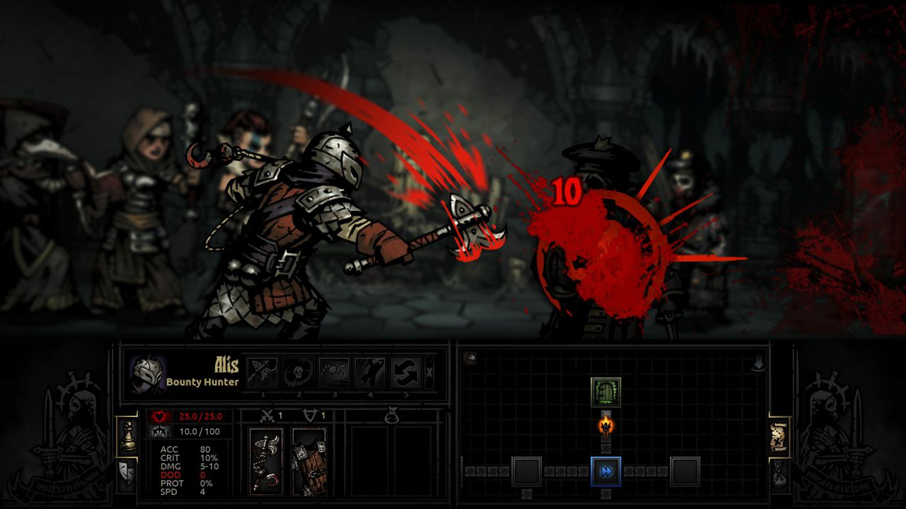 Darkest Dungeon uscirà dalla fase early access a gennaio