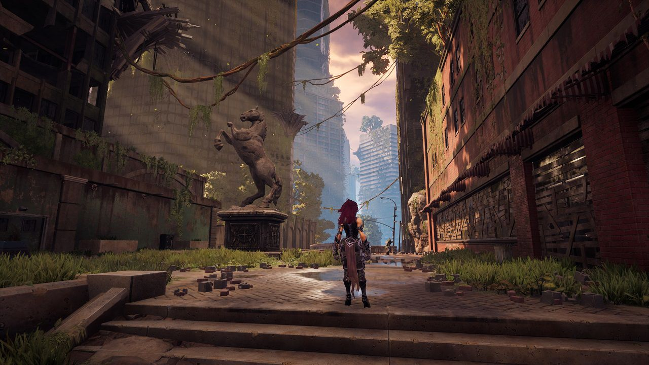 Darksiders 3 si mostra in azione in 16 minuti di gameplay