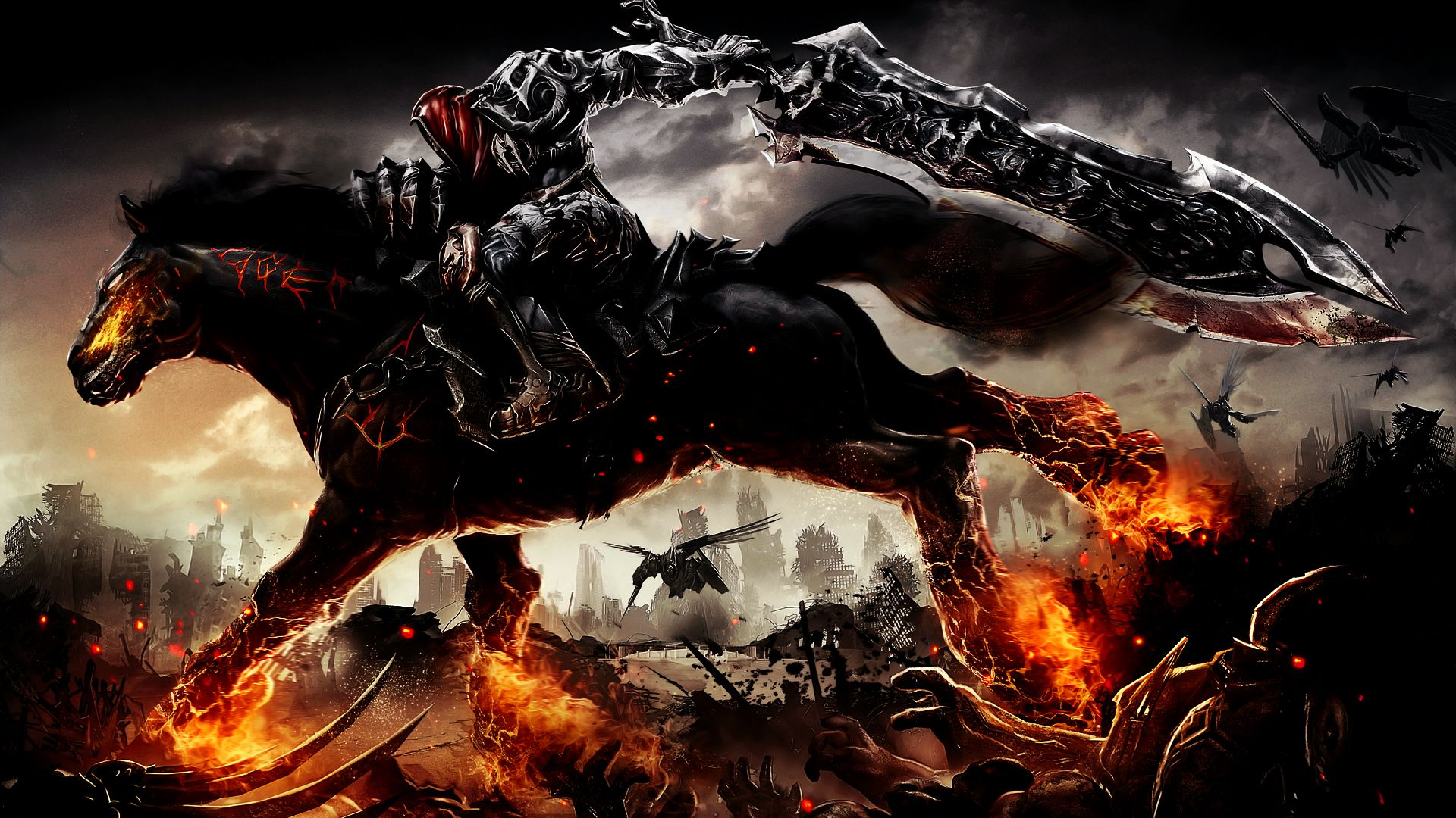 Darksiders Remaster Arriverà Su PlayStation 4, Xbox One E