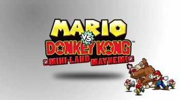 Data europea per Mario vs. Donkey Kong: Mini-Land Mayhem