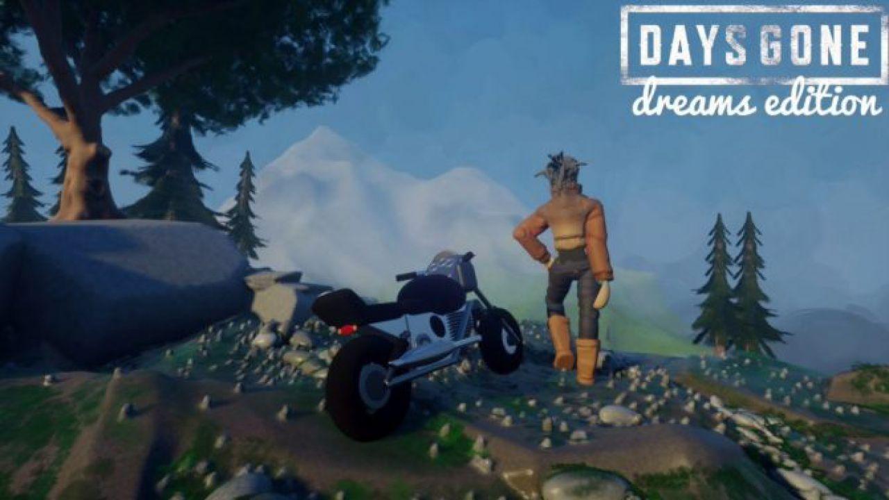 Days Gone: una celebre scena del gioco è stata ricreata in Dreams