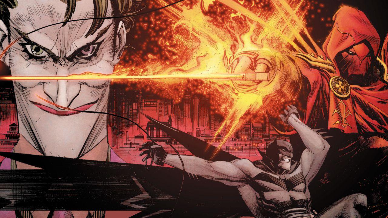 DC Comics: arrivano le nuove  figures di Batman, Joker e Azrael