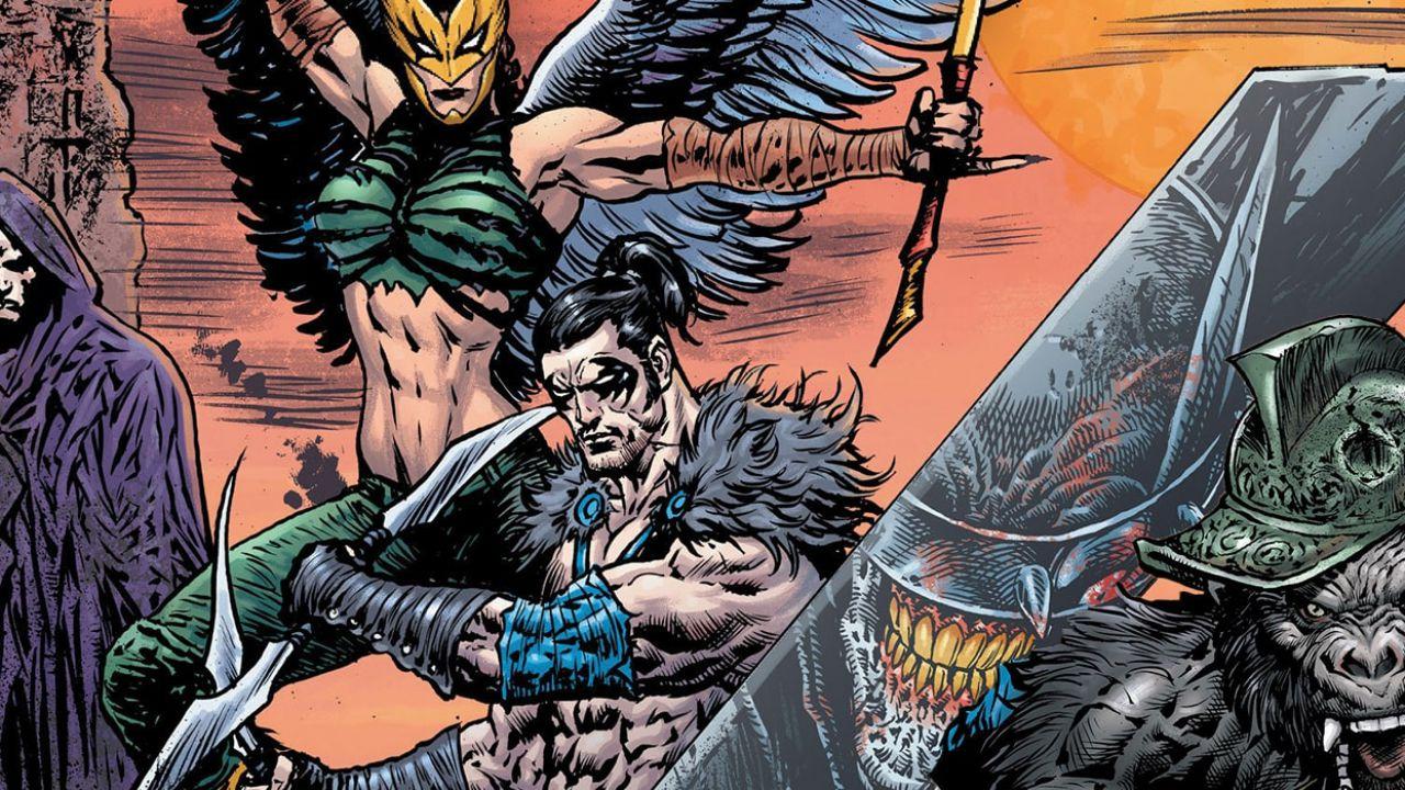 DC Comics: Nigthwing e Hawkgirl ottengono due nuovi costumi in Death Metal